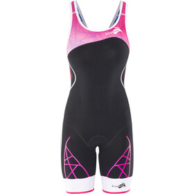 KiWAMi Spider Openback Trisuit Women black/pink/white